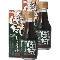 福山醸造 トモエ 北海道ほたてしょうゆ 瓶 150ml 2個