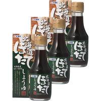 福山醸造 トモエ 北海道ほたてしょうゆ 瓶 150ml 3個