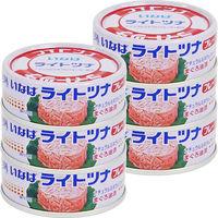 いなば食品 ライトツナフレーク3缶セット×2個