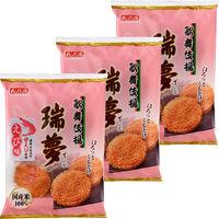 天乃屋 歌舞伎揚瑞夢えび味 1セット(3袋)