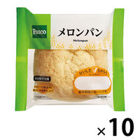 Pasco ロングライフパン メロンパン 1セット(10個入) 敷島製パン