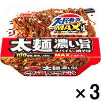 エースコック スーパーカップMAX大盛り 太麺濃い旨スパイシー焼そば 3個