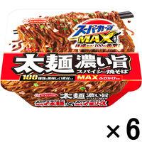 エースコック スーパーカップMAX大盛り 太麺濃い旨スパイシー焼そば 6個