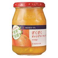 明治屋 果実実感 ざくざくオレンジマーマレード 340g 1個