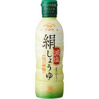 ヤマサ醤油 絹しょうゆ減塩 450ml鮮度ボトル 1本