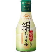 ヤマサ醤油 絹しょうゆ減塩 200ml鮮度ボトル 1本