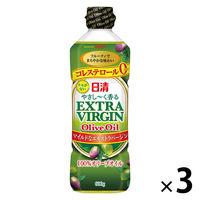 日清オイリオ 日清やさし〜く香るEXVオリーブオイル 3本