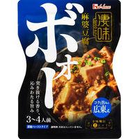 ハウス食品 凄味麻婆豆腐の素 コクと旨みの広東式 1個