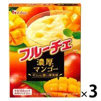 ハウス食品 フルーチェ 濃厚マンゴー 150g 1セット(3個)