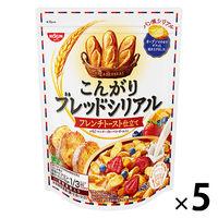 日清シスコ こんがりブレッドシリアル フレンチトースト仕立て 5袋 シリアル