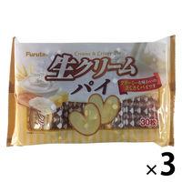 フルタ製菓 生クリームパイ 30枚 1セット(3個)