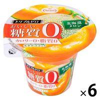 たらみ トリプルゼロおいしい糖質0 北海道メロン 1セット(6個)
