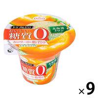 たらみ トリプルゼロおいしい糖質0 北海道メロン 1セット(9個)