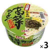 マルタイ 九州産高菜ラーメン とんこつ味 1セット(3個)