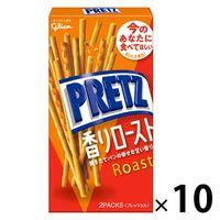 江崎グリコ プリッツ 香りロースト 1セット(10個)