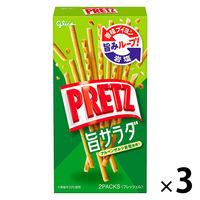 江崎グリコ プリッツ 旨サラダ 1セット(3個)