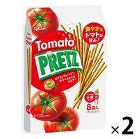 江崎グリコ プリッツ 熟トマト 9袋入 1セット(2個)