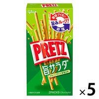 江崎グリコ プリッツ 旨サラダ 1セット(5個)
