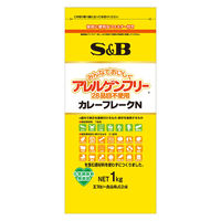 エスビー食品 アレルゲンフリー(28品目不使用)カレーフレーク1kg 1袋