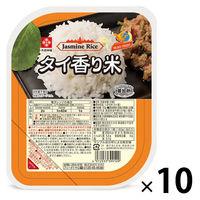 タイ香り米パックごはん(無菌米飯)180g 10個 木徳神糧 米加工品