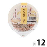 国産もち麦ごはん 12個 アイズ パックごはん 包装米飯