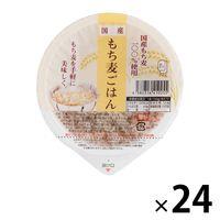国産もち麦ごはん 24個 アイズ パックごはん 包装米飯