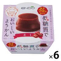 遠藤製餡 E低糖質ようかんこし 6個