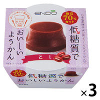 遠藤製餡 E低糖質ようかんこし 3個