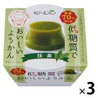 遠藤製餡 E低糖質ようかん抹茶 3個