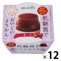 遠藤製餡 E低糖質ようかんこし 12個
