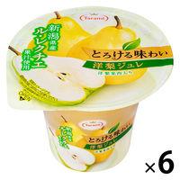 たらみ とろける味わい 洋梨ジュレ 6個 ゼリー お菓子 洋菓子