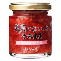 はなのみ 果実そのまま長野県産 いちご 1本 ジャム