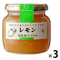 はなのみ 果実を蜂蜜で煮込んだはちみつジャム 愛媛・長野産レモンジャム 瓶 3本