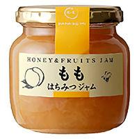 はなのみ 果実を蜂蜜で煮込んだはちみつジャム 長野産ももジャム瓶 1本