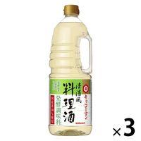 キッコーマン 清酒風料理酒 1.8L 3本