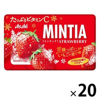 MINTIA(ミンティア)ストロベリー 20個 アサヒグループ食品 タブレット キャンディ