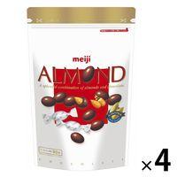 アーモンドチョコレートパウチ 336g 大容量 低GI 4袋 明治 チョコレート