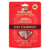 トム&ルーク フルーツ&ナッツチョコレートスナックボール ダークストロベリー8個 1袋 チョコレート