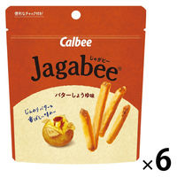 カルビー スタンドパウチ Jagabee バターしょうゆ味 40g 6袋 スナック菓子 おつまみ