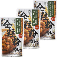 エスビー食品 S&B じっくり焙煎 全粒粉カレーフレーク 中辛 1セット(3個)