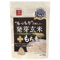 はくばく もっちり美味しい発芽玄米+もち麦 1kg 1袋