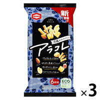 亀田製菓 洋風あられコレクション アラコレ 80g 3袋