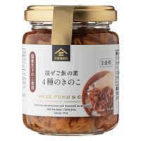 久世福商店 混ぜご飯の素 4種のきのこ fk00168 1個