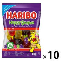 ハリボー ハッピーグレープ 10袋