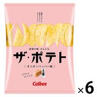 カルビー ザ・ポテト オニオンペッパー味 55g 6袋