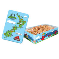 クッキータイム ニュージーランドマップ缶 チョコレートチップクッキー 1箱 ギフト