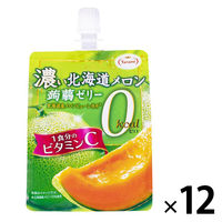 たらみ 濃い北海道メロン蒟蒻ゼリー0kcal 12個