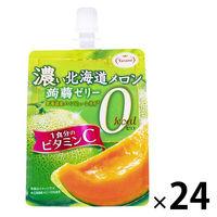 たらみ 濃い北海道メロン蒟蒻ゼリー0kcal 24個
