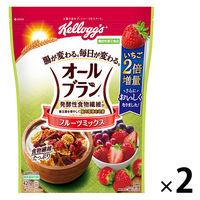 日本ケロッグ オールブランフルーツミックス 徳用 420g 2袋 機能性表示食品 シリアル