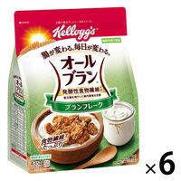 日本ケロッグ オールブラン ブランフレーク 徳用 435g 6袋 機能性表示食品 シリアル